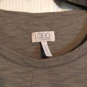 LOGO by Lori Goldstein Tops - Olive Green Logo Tunic